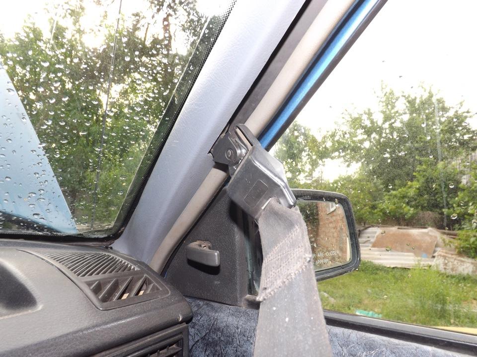 Как заменить лобовое стекло опель кадет