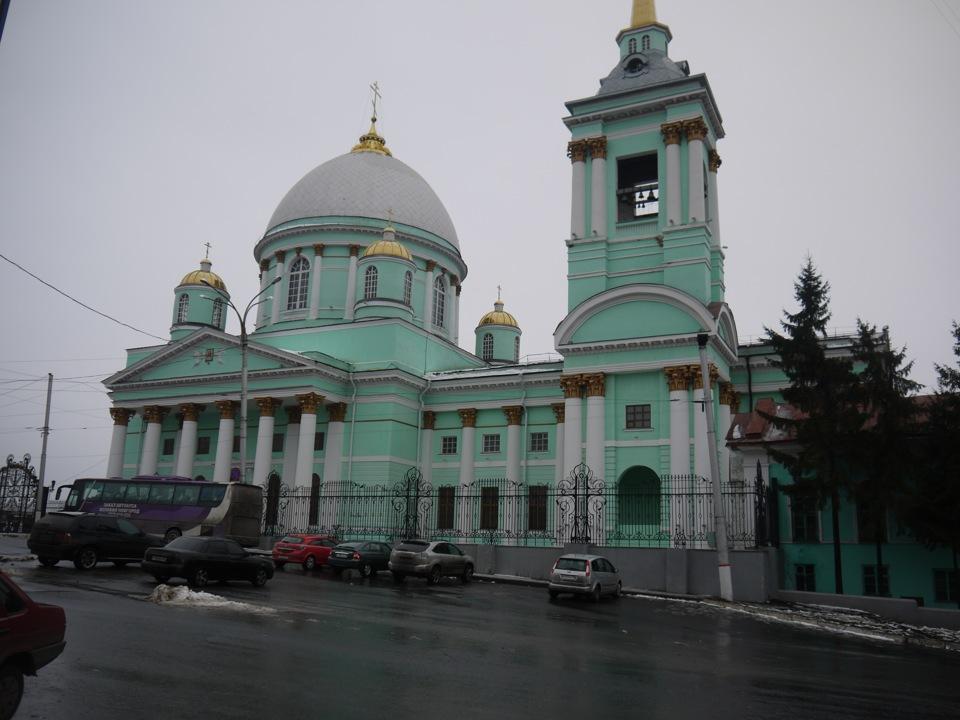Картинки города курска зимой