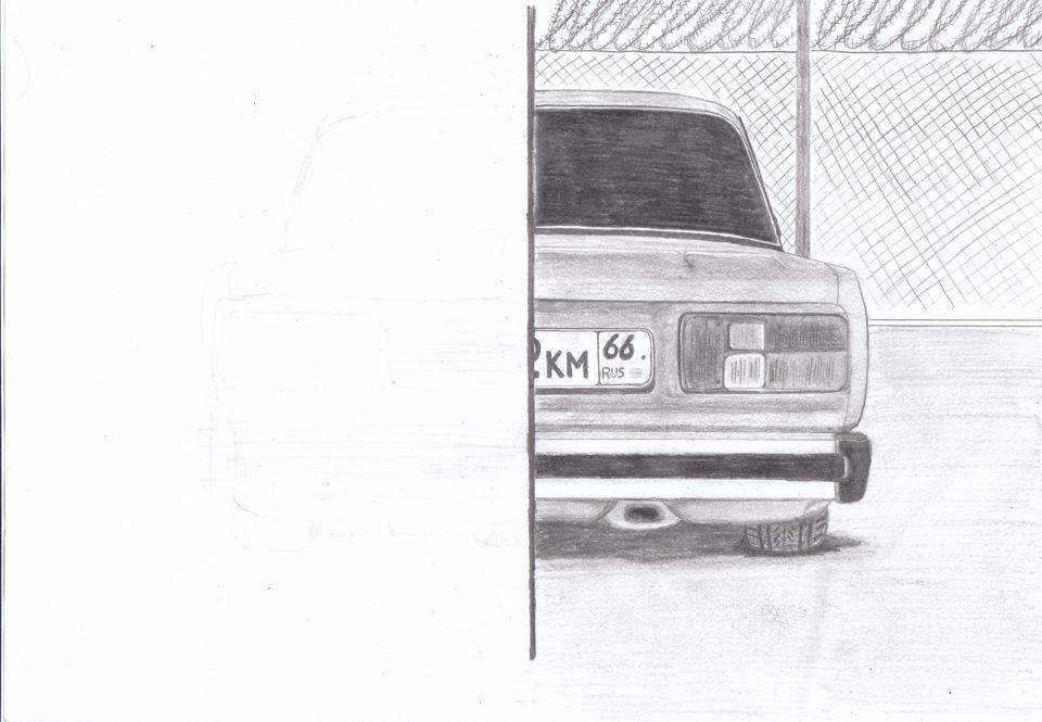 рисунки ваз карандашом: