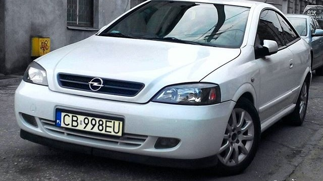 Opel astra coupe bertone biala perla drive2 - Opel astra coupe bertone fiche technique ...
