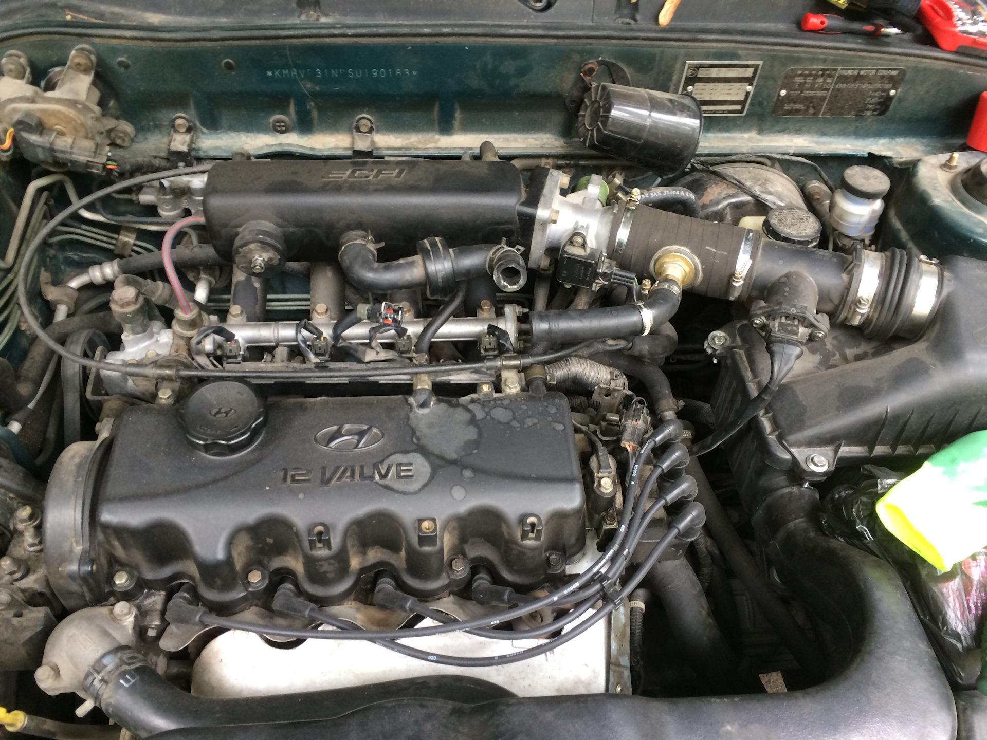 Чистка РХХ — бортжурнал Hyundai Accent 1.5 GLS 1995 года на DRIVE2 607cd5c82f8e7