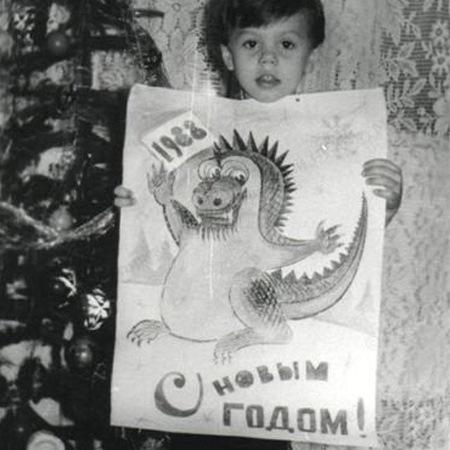 Красивый дракоша)