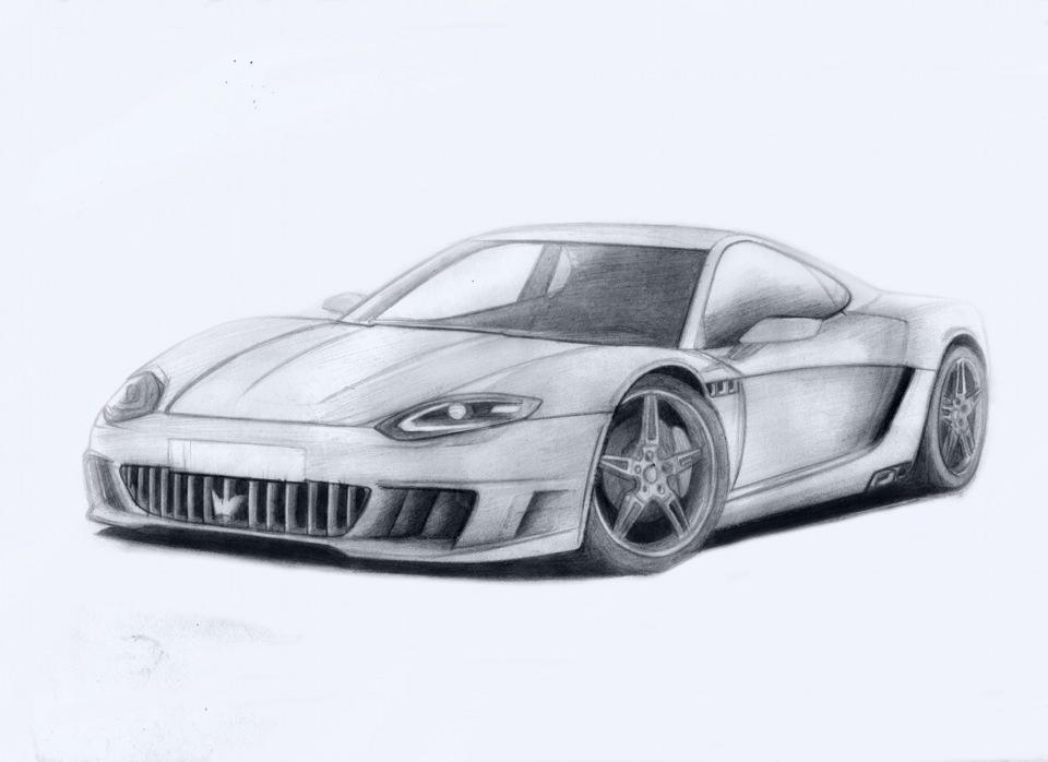 Крутые рисунки машин картинки