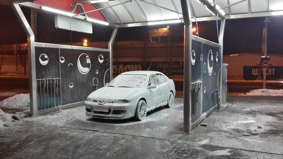 Мыть машину зимой в -10 как-то неприкольно))) - бортжурнал SEAT Toledo Cupra R 1.8 TURBO 200hp+ 2003 года на DRIVE2