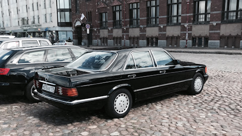 mercedes benz s class w126 owners reviews with photos drive2