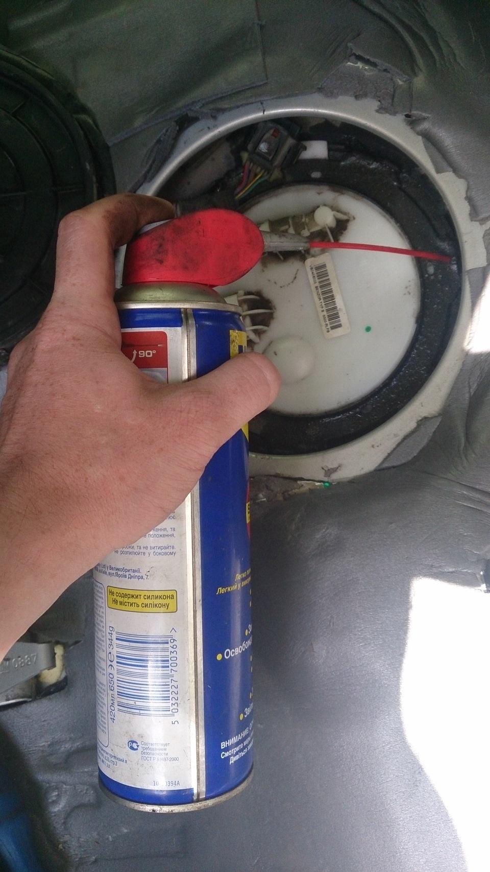 опель замена бензонасоса на ваз