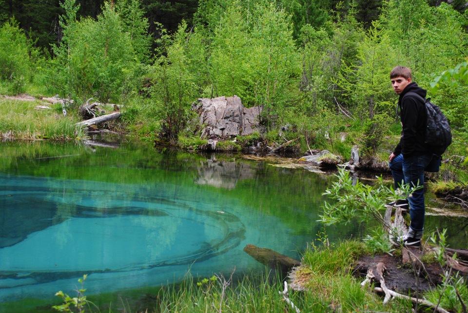 Гейзеровое озеро алтай - a5f12