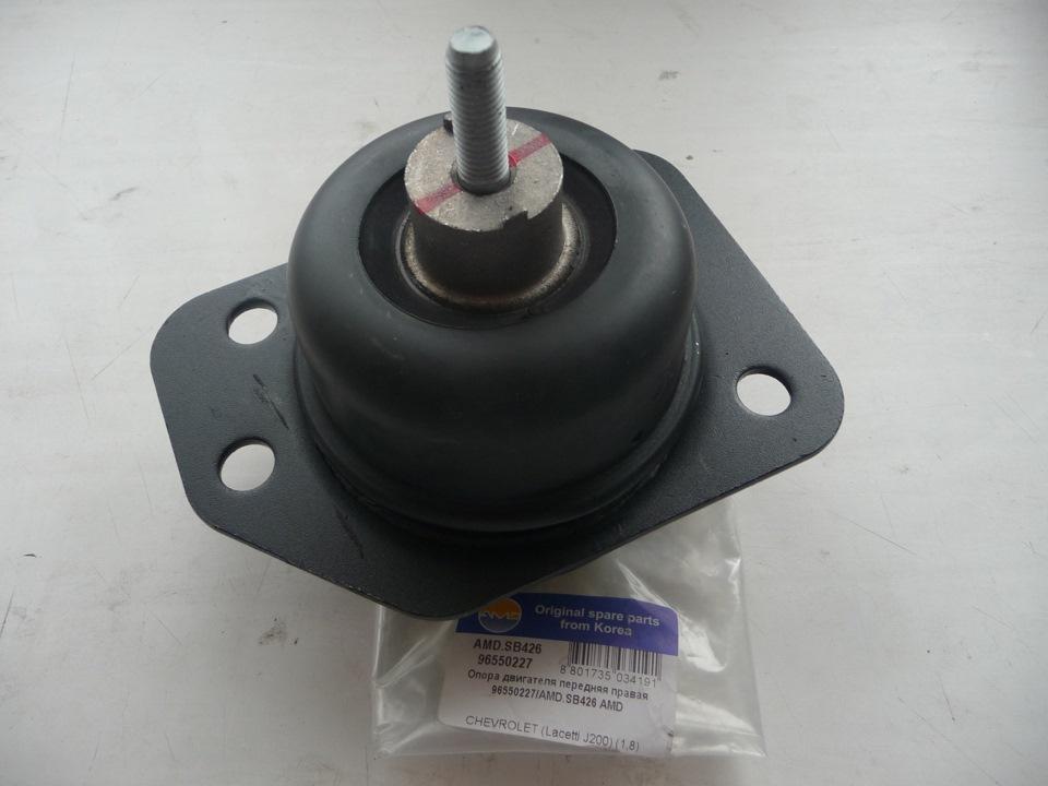 замена гидравлической опоры двигателя chevrolet lacetti