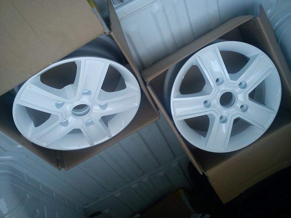 Колесные диски на форд транзит