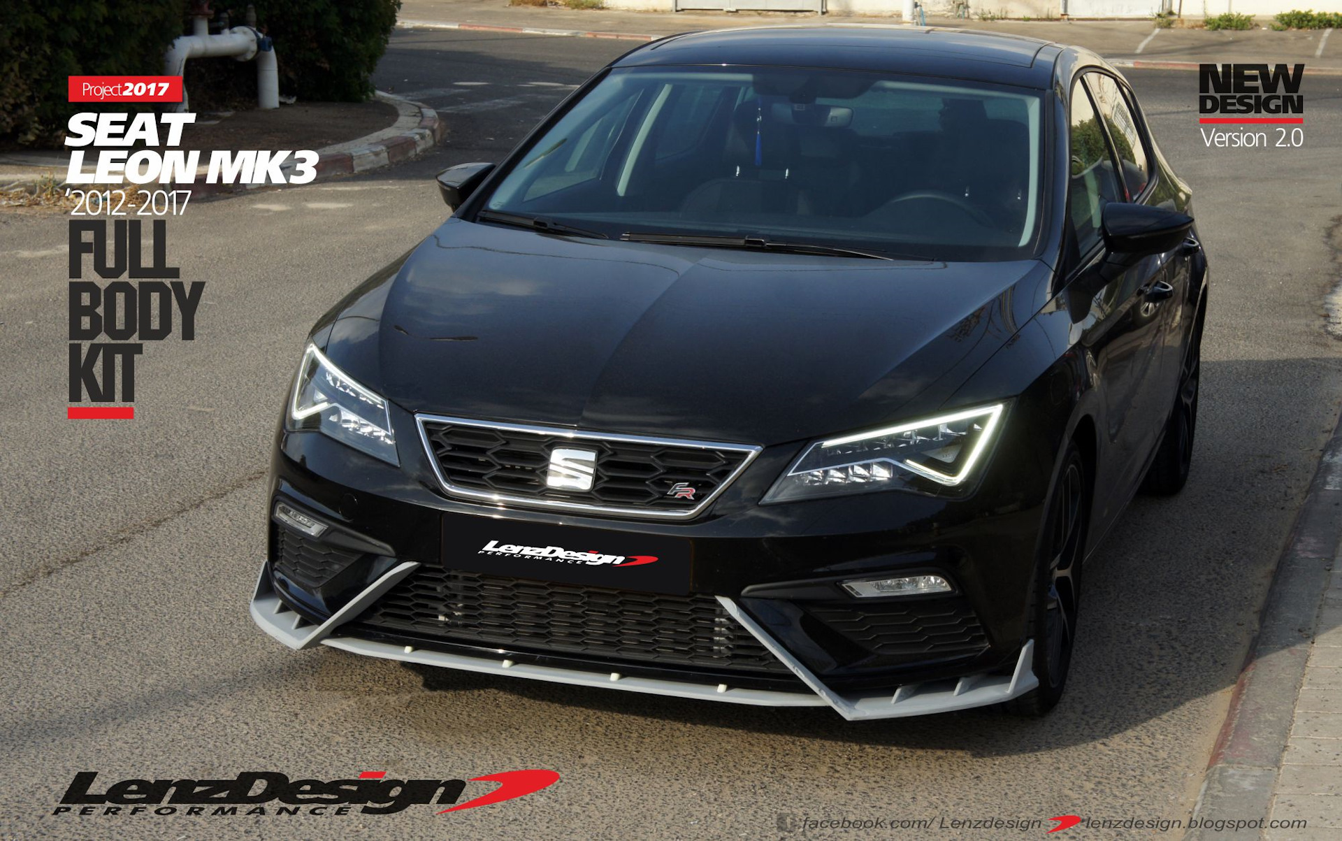 seat leon mk3 5f tuning body kit lenzdesign performance new design version 2 0 lenzdesign. Black Bedroom Furniture Sets. Home Design Ideas