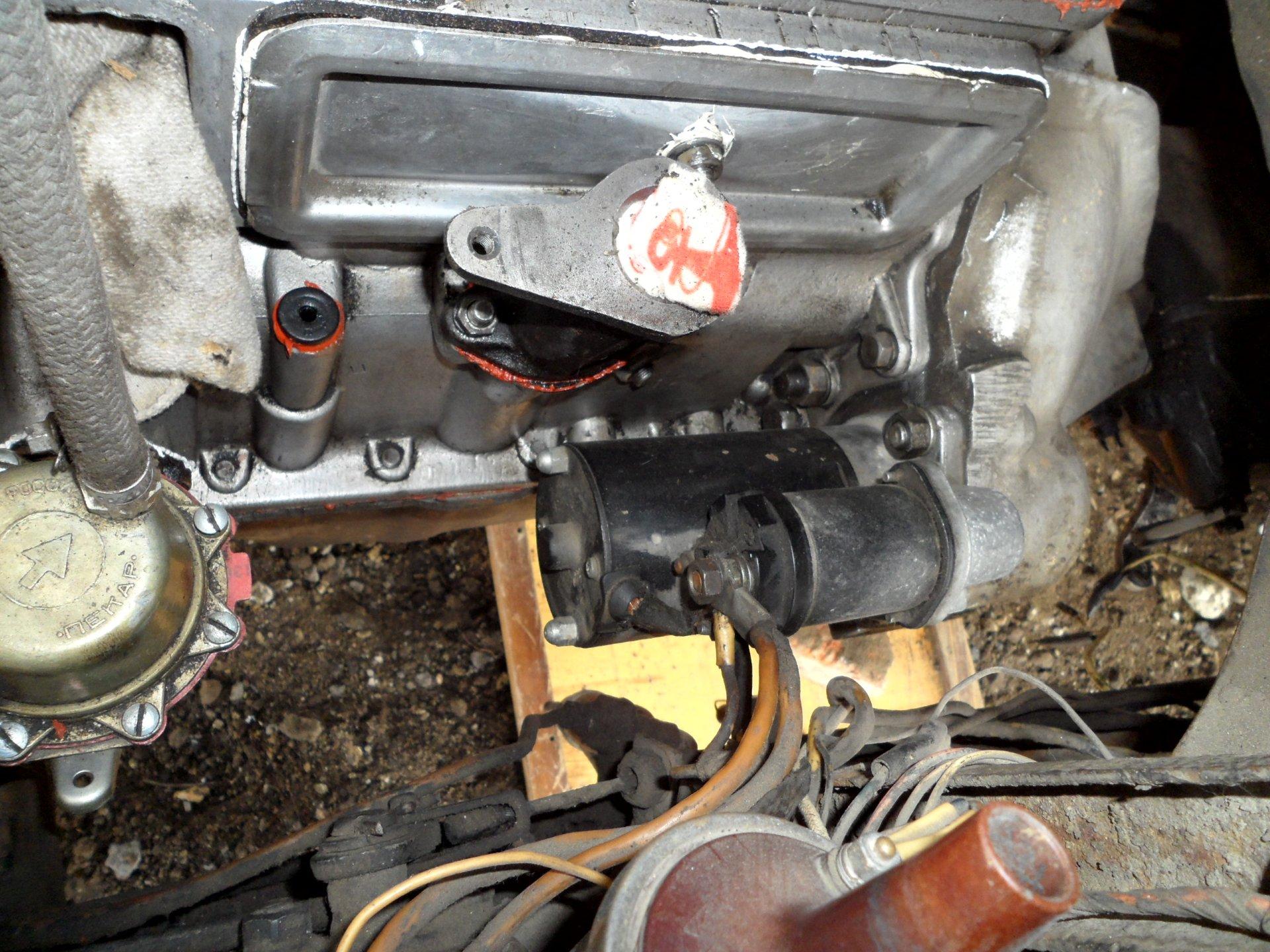Стартер газ-3307 схема