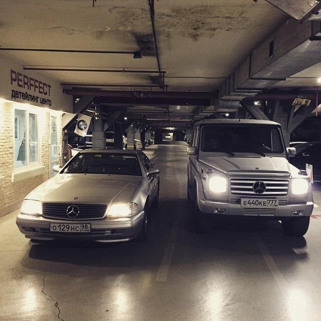 "бортжурнал Mercedes-Benz SL-class ""Everyday"