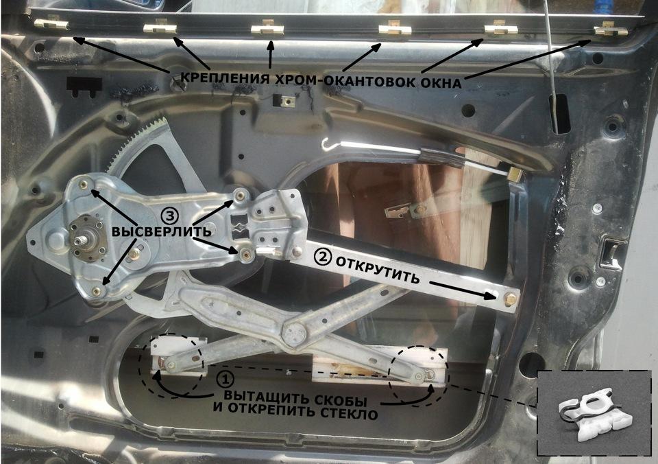 механизм стеклоподъемника bmw e36