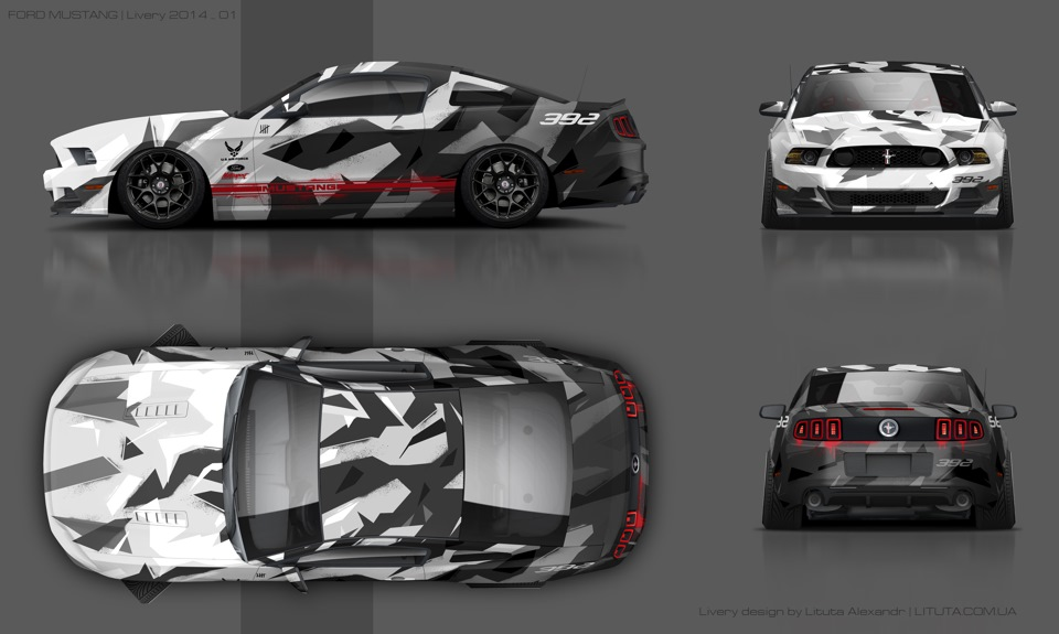 camo ford mustang ford mustang 2014 drive2. Black Bedroom Furniture Sets. Home Design Ideas