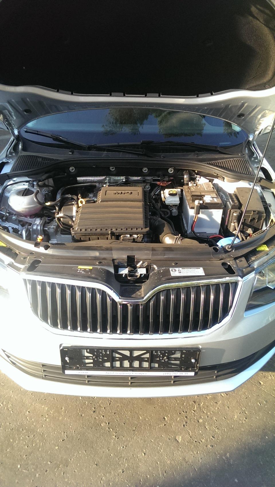 skoda octavia a7 двигатель 1,6 mpi