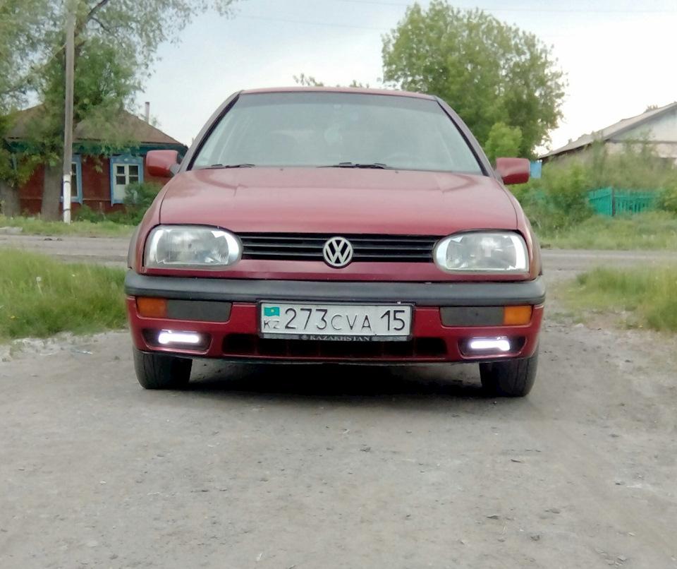 Дневные ходовые огни гольф 3 - бортжурнал Volkswagen Golf Red 1.8 1992 года на DRIVE2