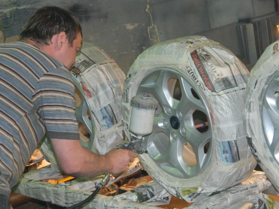 Реставрация своими руками диски