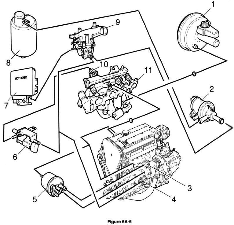 И схема подключения вакуумов