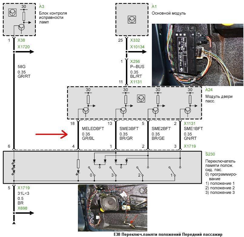 Схема бмв е53 электро