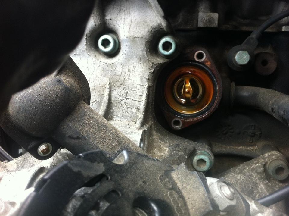 двигатель audi 1.8 adr термостат