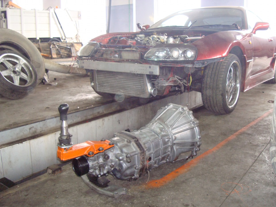 R154 Transmission Installation Logbook Toyota Supra 2jz