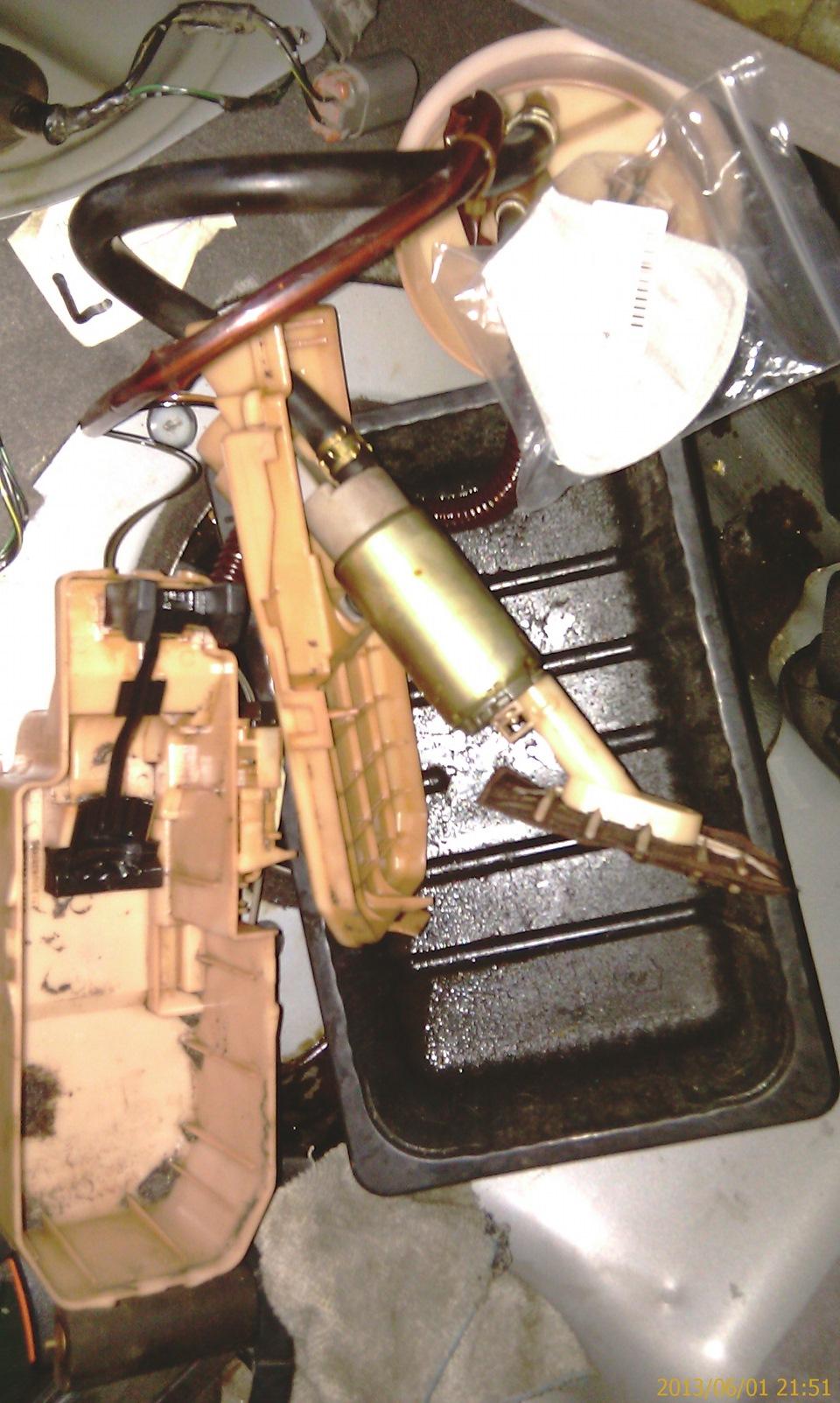 Замена сетки на бензонасосе у Nissan Primera p11e - бортжурнал Nissan Primera SR20De 2.0 16V, сер.мет. 1998 года на DRIVE2
