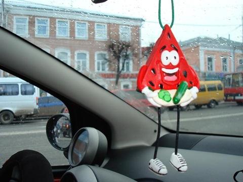 Пахучка в авто