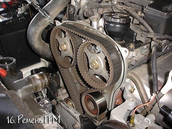 Замена ремня ГРМ. Часть 1. - бортжурнал Mitsubishi Pajero iO 2003 года на DRIVE2