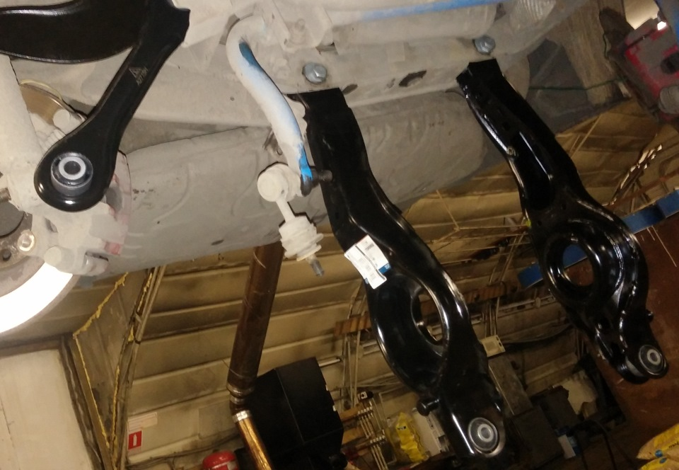 Замена задних рычагов на форд фокус 2 своими руками 668