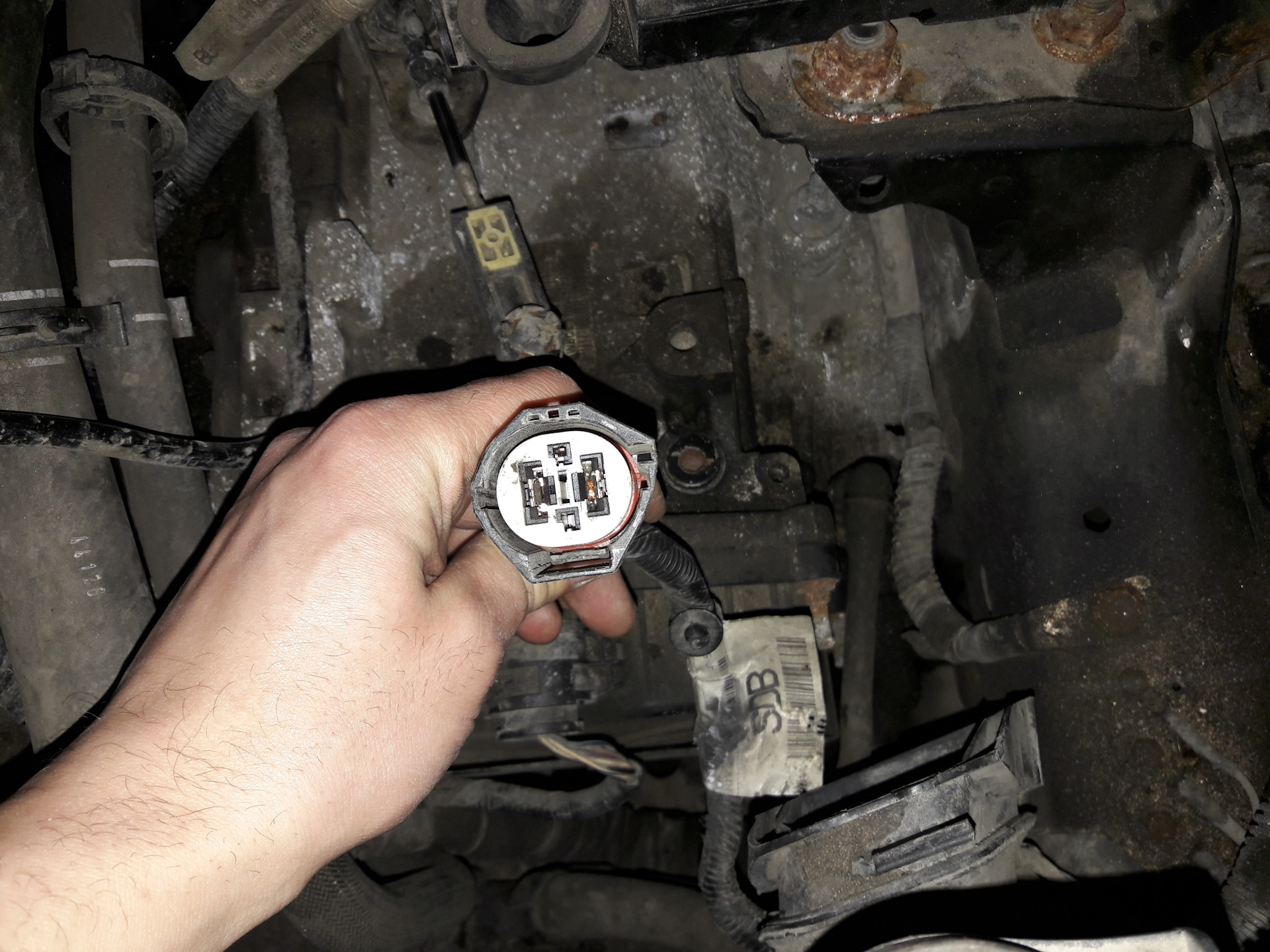 ошибка p0480 ford