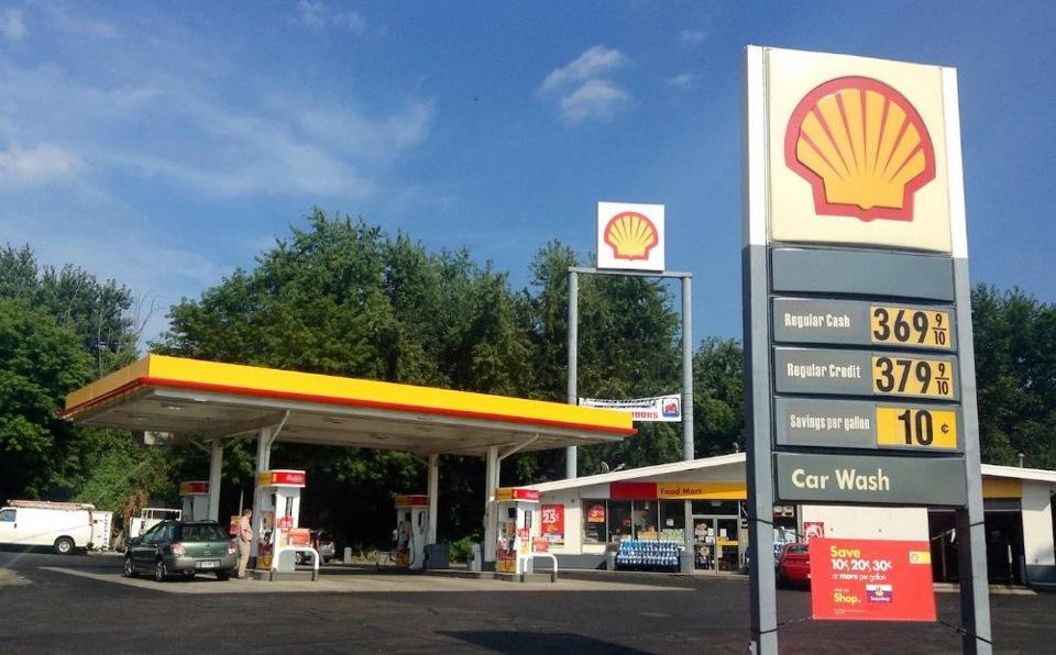 Про американские заправки и цены на бензин 171 Путешествия