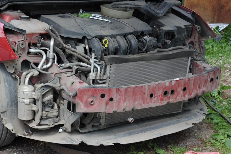 Чистка радиатора форд фокус своими руками 632