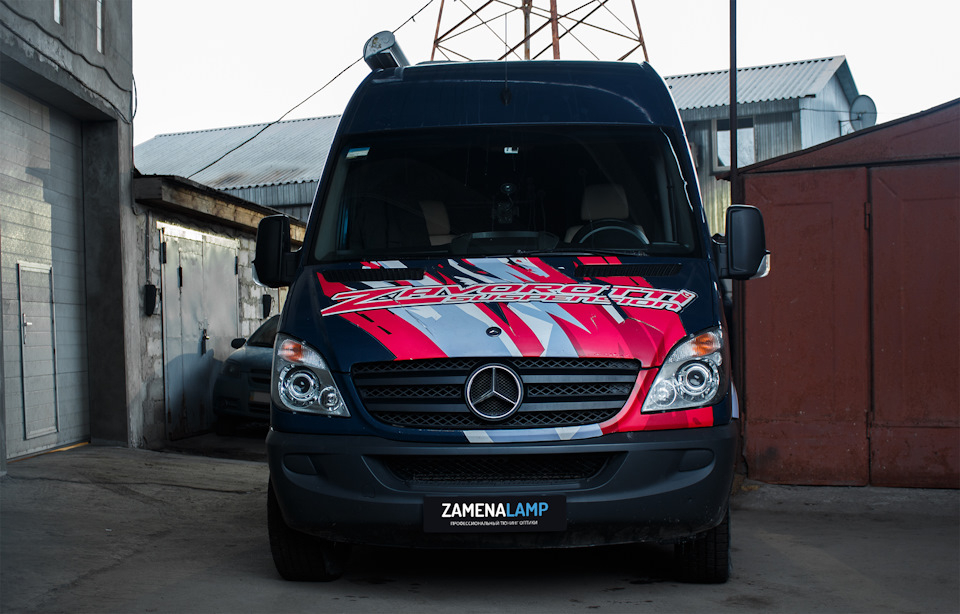 mercedes sprinter tuning far