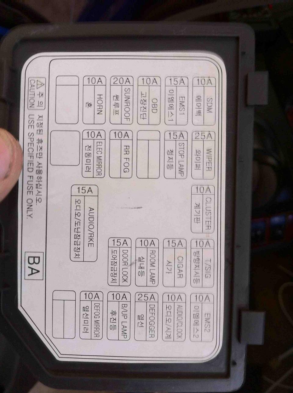 Схема предохранителей шевроле авео на русском