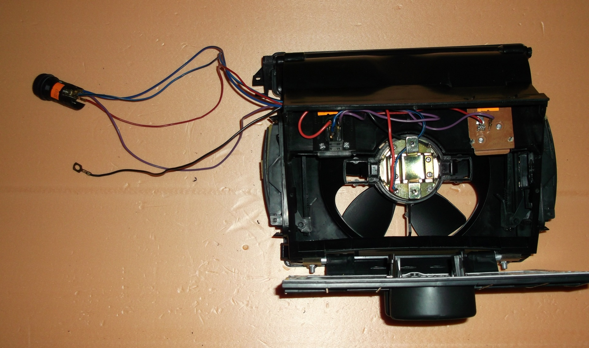 Как поменять вентилятор на печке ваз 2107