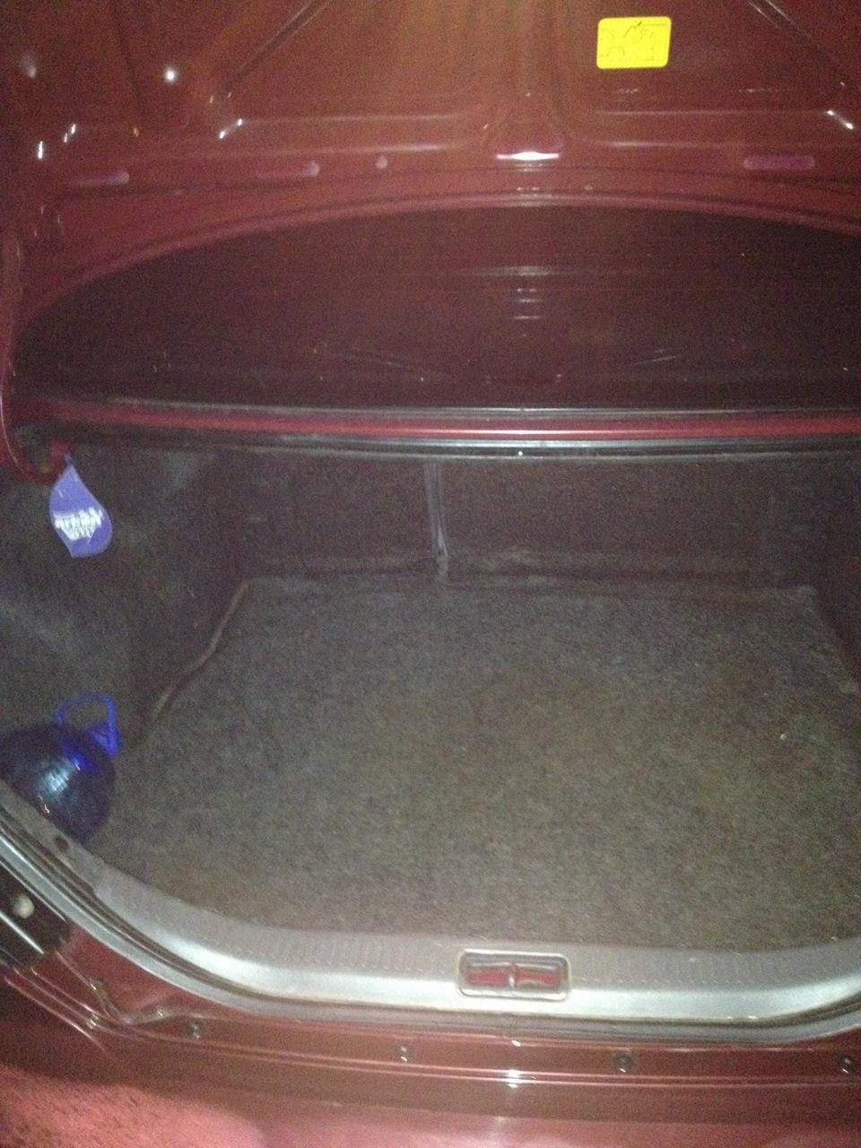 kia spectra как открыть багажник изнутри