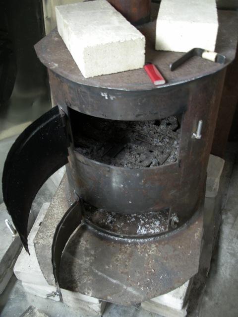 Как сварить печку для гаража