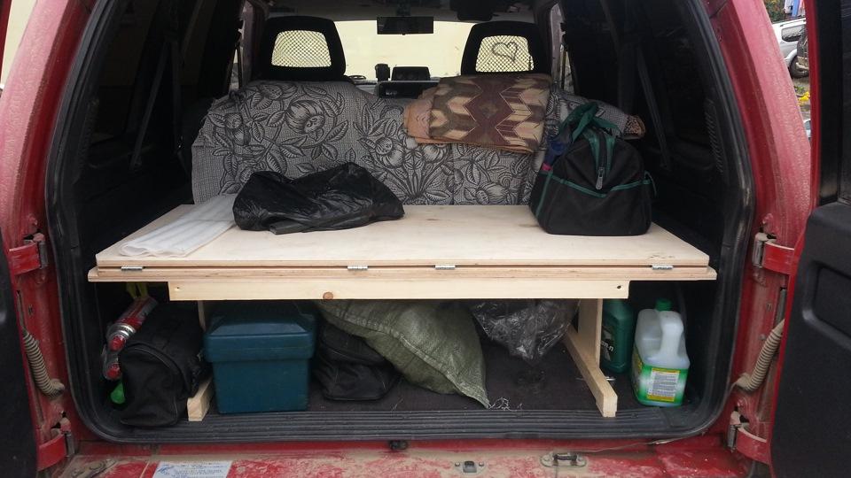 Спальник в авто фото