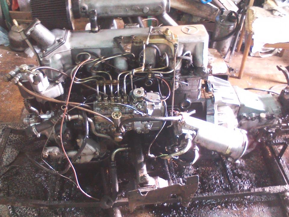 Двигатель мерседес 123 617 дизель мануал ремонт