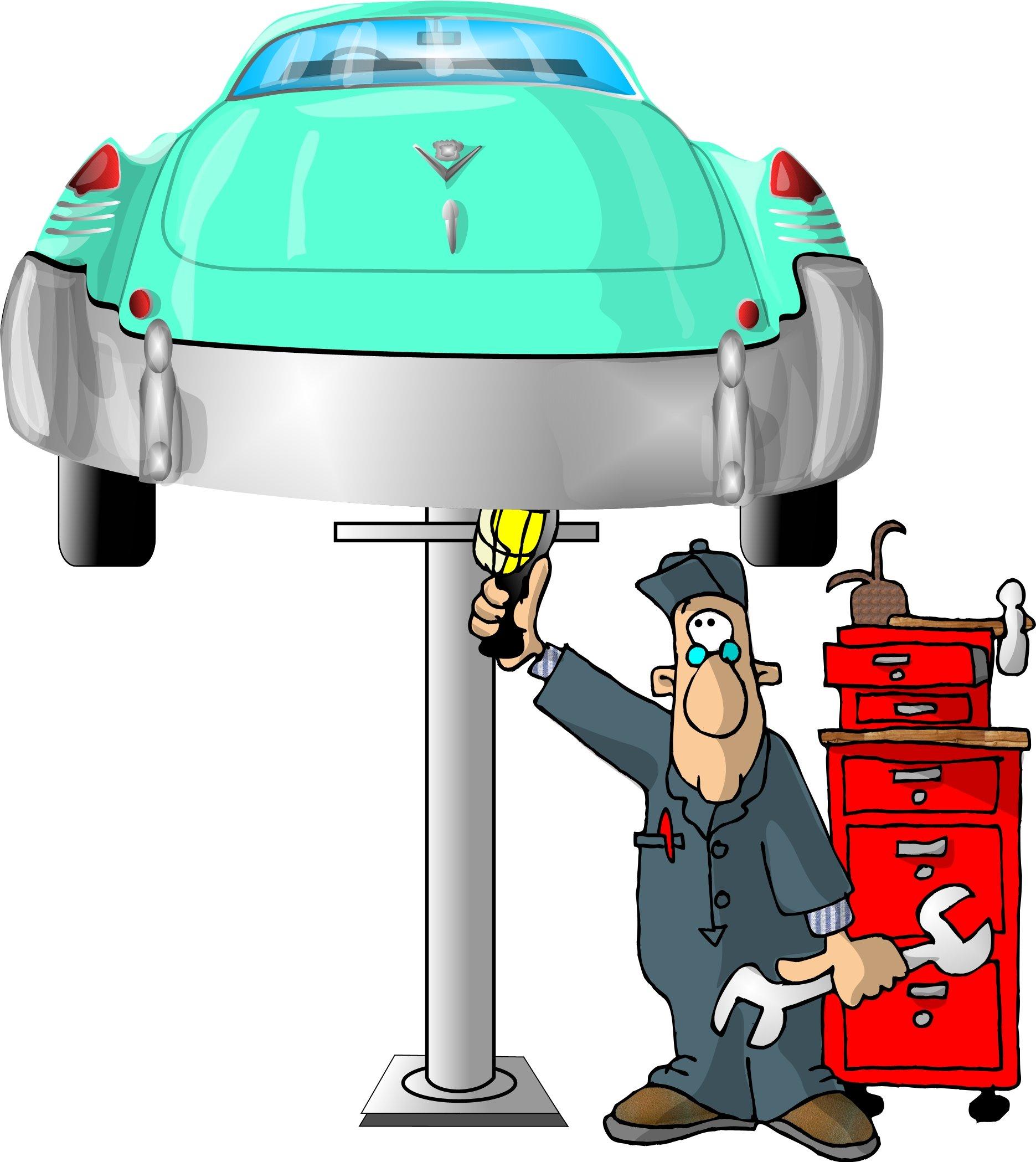 Днем рождения, ремонт автомобиля смешные картинки