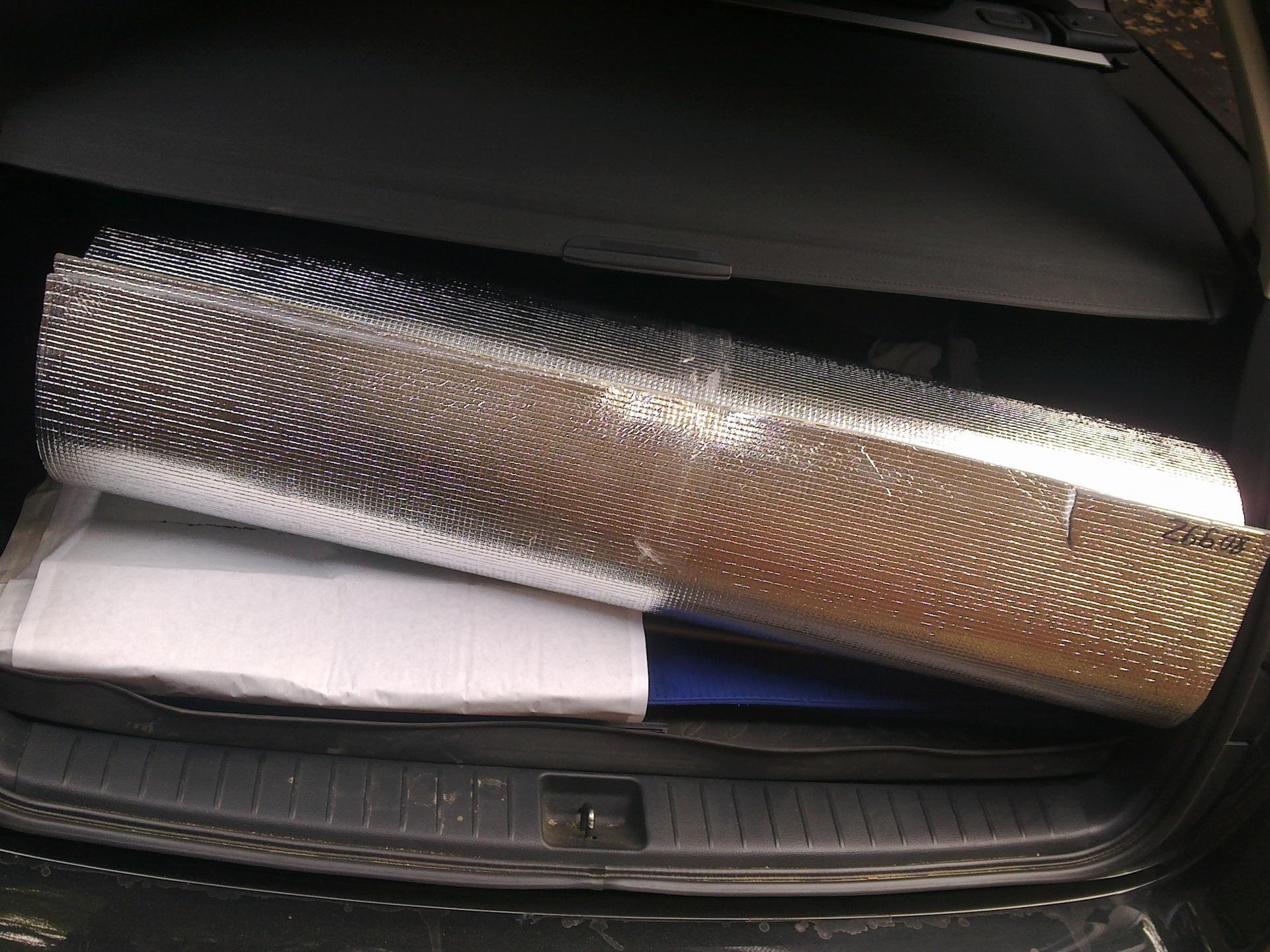 Теплоизоляция фольгированная рулонная урса