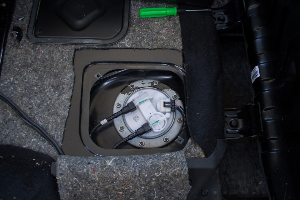 Как заменить топливный фильтр нива шевроле