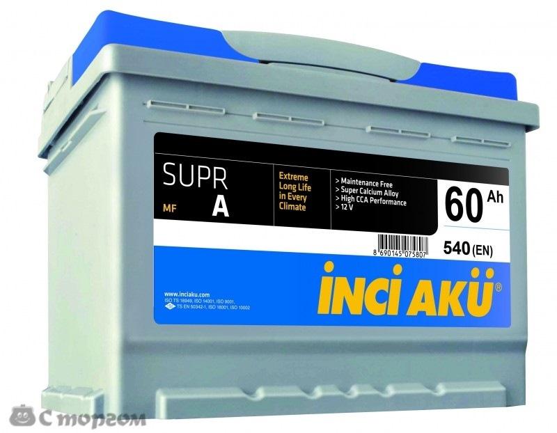 b3cab42s 960 - Турецкий аккумулятор inci aku