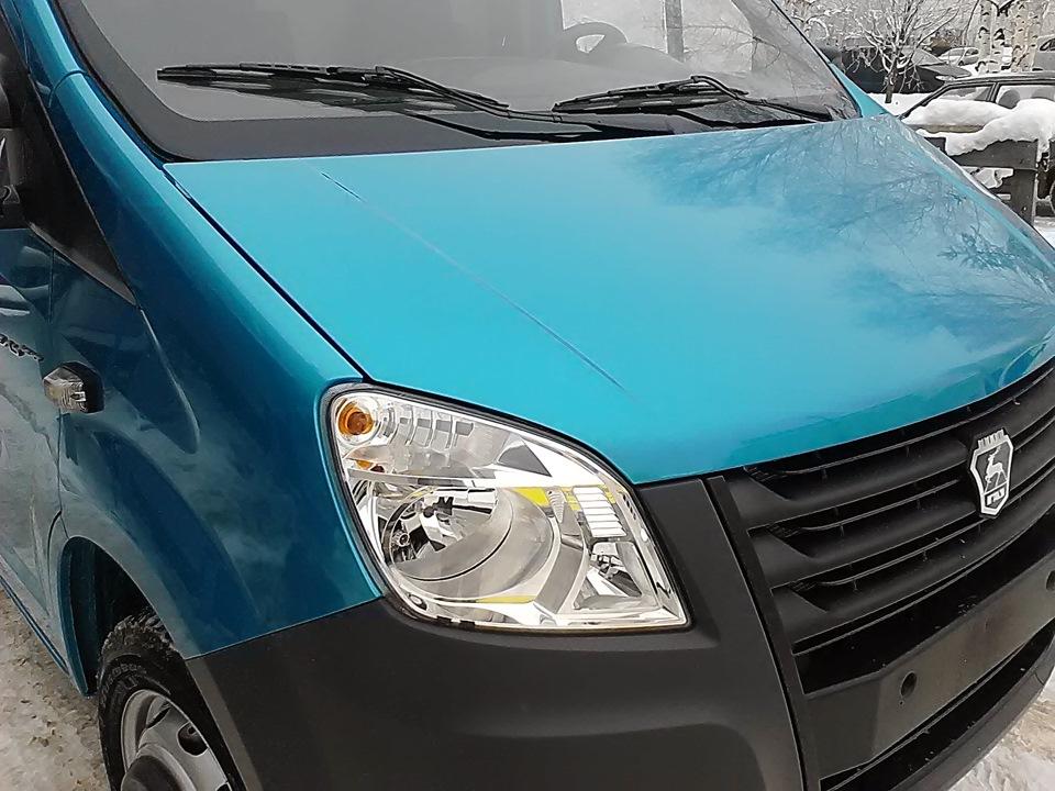 Голубой цвет металлик