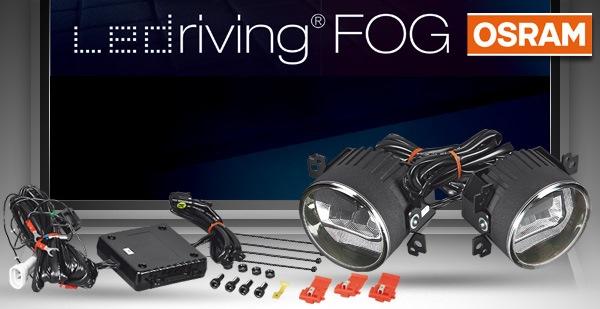 Osram Voll-LED Tagfahrlicht / Nebelleuchten mit Zulassung (LEDFOG101)