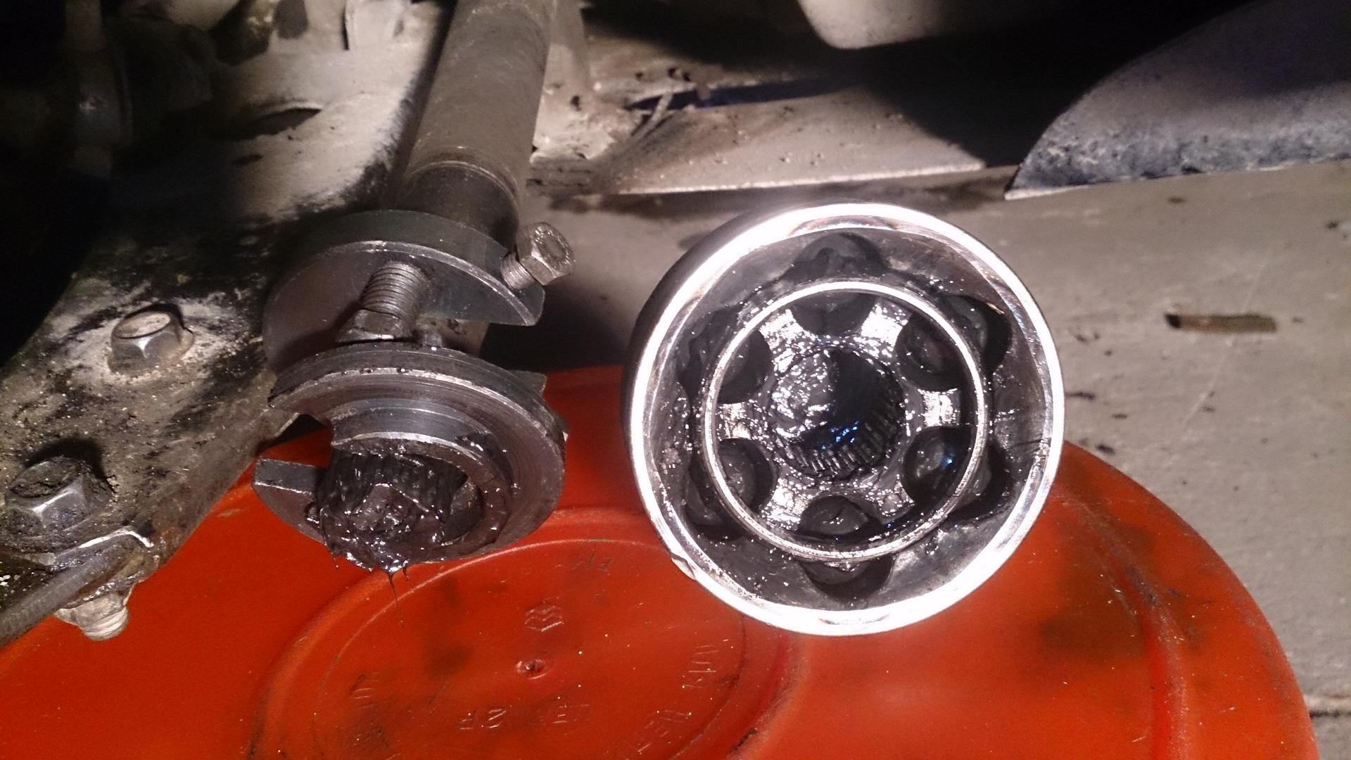 Замена пыльника внешнего шруса форд фокус 2 своими руками 50
