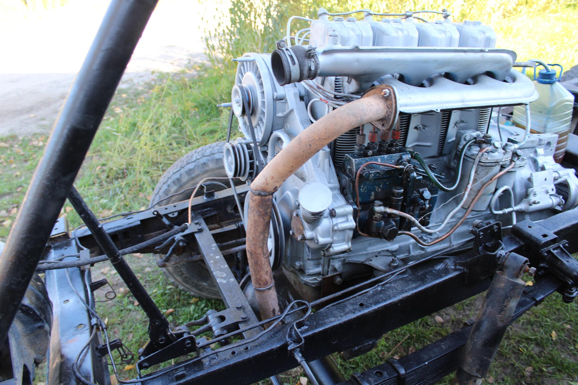 липы, каштаны уаз с двигателем от трактора фото сделать руки сильными
