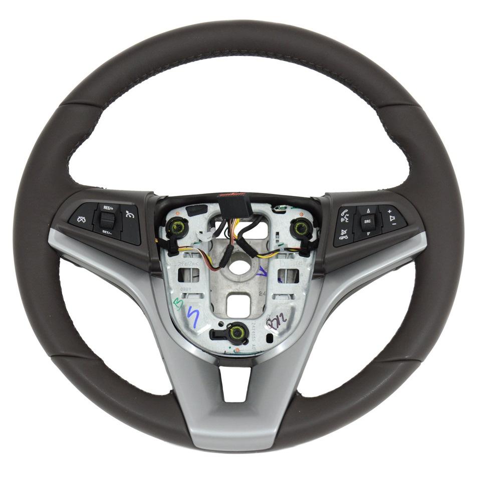 chevrolet cruze можно установить мультимедийный руль