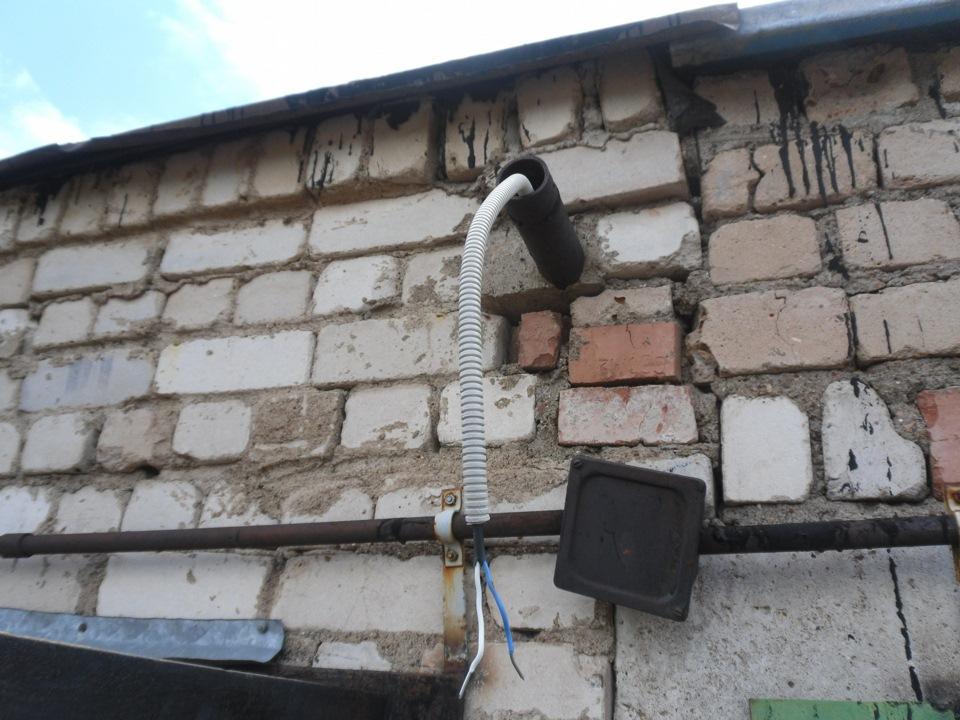 Подключение электричества в гараж получение технические условий на подключение электричества
