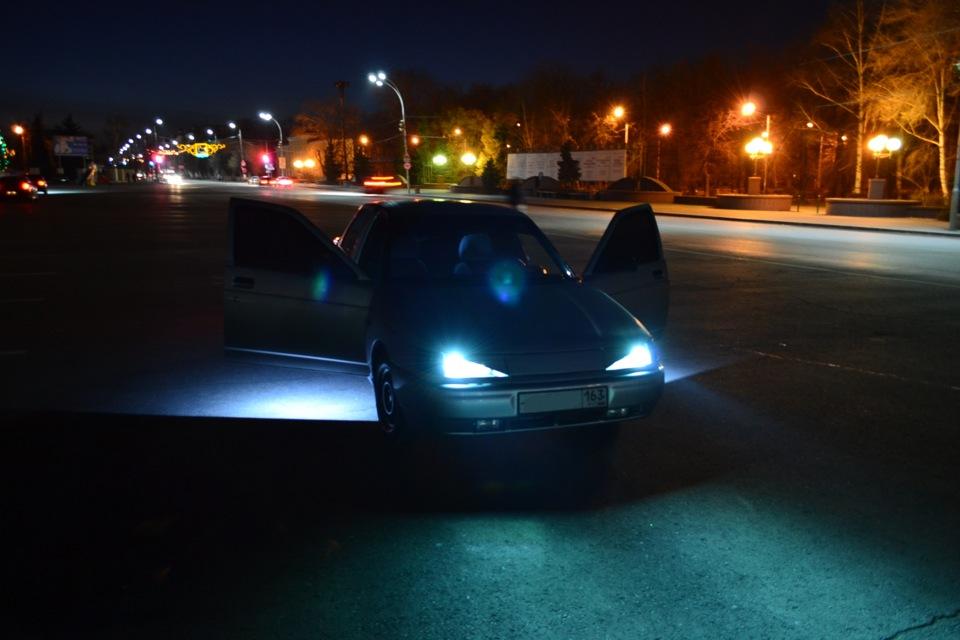 фото в машине лады ночью оригинальном